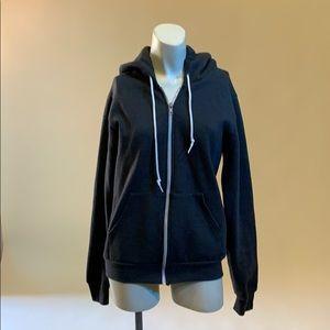 New american apparel grey hood size S